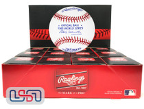 (12) 1985 World Series Official MLB Rawlings Baseball Royals Boxed - Dozen