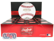 (12) 2008 World Series Official MLB Rawlings Baseball Phillies Boxed - Dozen