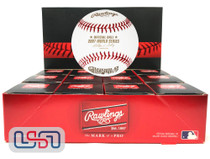 (12) 2007 World Series Official MLB Rawlings Baseball Red Sox Boxed - Dozen