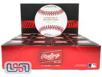 (12) 2005 World Series Official MLB Rawlings Baseball White Sox Boxed - Dozen