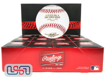 (12) 2002 World Series Official MLB Rawlings Baseball Angels Boxed - Dozen