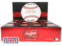 (12) 2001 World Series Official MLB Rawlings Baseball Diamondbacks Boxed - Dozen