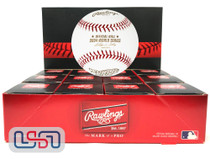 (12) 2004 World Series Official MLB Rawlings Baseball Red Sox Boxed - Dozen