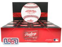 (12) 1998 World Series Official MLB Rawlings Baseball Yankees Boxed - Dozen