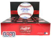 (12) 1997 World Series Official MLB Rawlings Baseball Marlins Boxed - Dozen