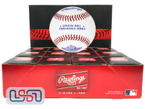 (12) 1993 World Series Official MLB Rawlings Baseball Blue Jays Boxed - Dozen