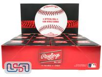 (12) 1996 World Series Official MLB Rawlings Baseball Yankees Boxed - Dozen