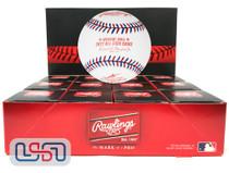 (12) 2017 All Star Game Official MLB Rawlings Baseball Marlins Boxed - Dozen