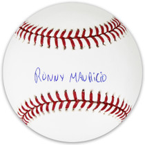 Ronny Mauricio New York Mets Signed Full Name Major League Baseball JSA Auth
