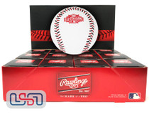 (12) 2015 All Star Game Official MLB Rawlings Baseball Reds Boxed - Dozen