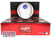 (12) 2013 All Star Game Official MLB Rawlings Baseball Mets Boxed - Dozen