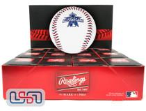 (12) 2010 All Star Game Official MLB Rawlings Baseball Angels Boxed - Dozen