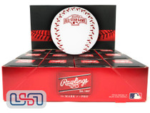 (12) 2004 All Star Game Official MLB Rawlings Baseball Astros Boxed - Dozen