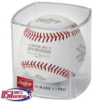 2019 ALCS Dueling Teams Yankees Astros Postseason Rawlings MLB Baseball - Cubed