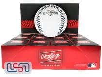 (12) 2001 All Star Game Official MLB Rawlings Baseball Mariners Boxed - Dozen