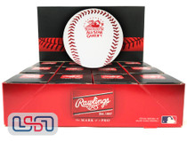 (12) 1991 All Star Game Official MLB Rawlings Baseball Toronto Jays Boxed - Dozen