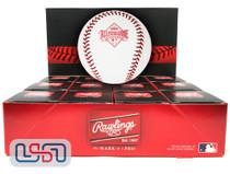 (12) 1989 All Star Game Official MLB Rawlings Baseball Angels Boxed - Dozen