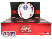 (12) 1988 All Star Game Official MLB Rawlings Baseball Reds Boxed - Dozen