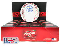 (12) 1982 All Star Game Official MLB Rawlings Baseball Expos Boxed - Dozen