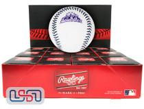 (12) 1998 All Star Game Official MLB Rawlings Baseball Rockies Boxed - Dozen