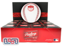 (12) 1981 All Star Game Official MLB Rawlings Baseball Indians Boxed - Dozen