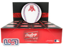 (12) 1997 All Star Game Official MLB Rawlings Baseball Cleveland Indians Boxed - Dozen