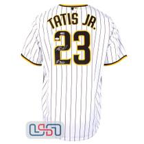 "Fernando Tatis Jr. Signed ""El Nino"" White San Diego Padres Nike Jersey JSA Auth"