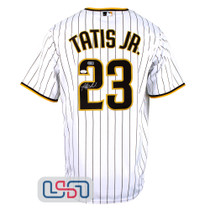 Fernando Tatis Jr. Signed Authentic White San Diego Padres Nike Jersey JSA Auth