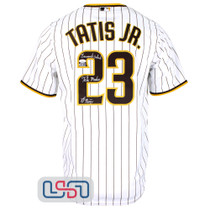 "Fernando Tatis Jr. Signed Full Name ""El Nino"" White Padres Nike Jersey JSA Auth"