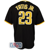 Fernando Tatis Jr. Signed Authentic Brown San Diego Padres Nike Jersey JSA Auth