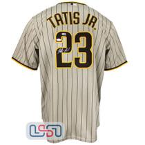 Fernando Tatis Jr. Signed Authentic Gold San Diego Padres Nike Jersey JSA Auth