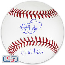 "Wander Franco Rays Signed ""El Patron"" Autographed Major League Baseball JSA Auth"