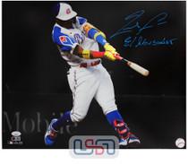 "Ronald Acuna Jr. Braves Signed ""El Abusador"" 16x20 Photograph Photo JSA Auth #23"
