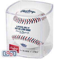 2021 All Star Game Official MLB Rawlings Baseball Atlanta Braves - Cubed
