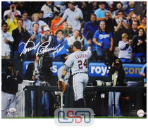 Miguel Cabrera Tigers Signed Autographed 16x20 Photo Photograph JSA Auth #24