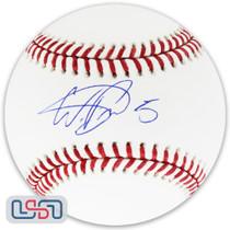 Wander Franco Tampa Bay Rays Signed Autographed #5 Major League Baseball USA JSA Auth