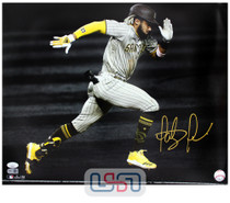 Fernando Tatis Jr. Padres Signed Autographed 16x20 Photo Photograph JSA Auth #16