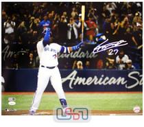 Vladimir Guerrero Jr. Blue Jays Autographed 16x20 Photograph Photo JSA Auth #5