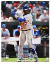 Vladimir Guerrero Jr. Blue Jays Autographed 16x20 Photo Photograph JSA Auth #2