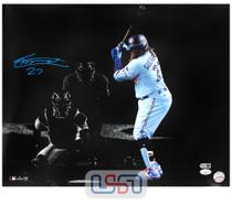 Vladimir Guerrero Jr. Blue Jays Autographed 16x20 Photograph Photo JSA Auth #8