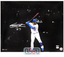 Vladimir Guerrero Jr. Blue Jays Autographed 16x20 Photo Photograph JSA Auth #10