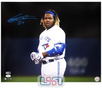 Vladimir Guerrero Jr. Blue Jays Autographed 16x20 Photograph Photo JSA Auth #4
