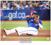Vladimir Guerrero Jr. Blue Jays Autographed 16x20 Photo Photograph JSA Auth #3