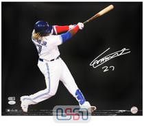 Vladimir Guerrero Jr. Blue Jays Autographed 16x20 Photo Photograph JSA Auth #9