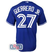 Vladimir Guerrero Jr. Signed Authentic Blue Blue Jays Nike Jersey JSA Auth