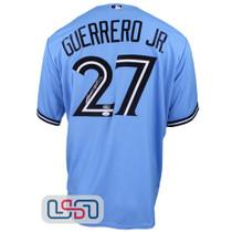 Vladimir Guerrero Jr. Signed Authentic Powder Blue Jays Nike Jersey JSA Auth