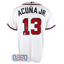 Ronald Acuna Jr. Signed Authentic White Atlanta Braves Nike Jersey JSA Auth