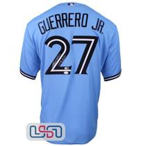 "Vladimir Guerrero Jr. Signed ""Vladdy"" Powder Blue Jays Nike Jersey JSA Auth"
