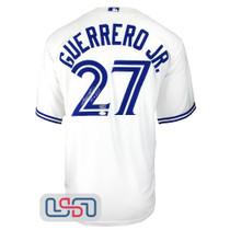 "Vladimir Guerrero Jr. Signed ""Vladdy"" White Blue Jays Nike Jersey JSA Auth"