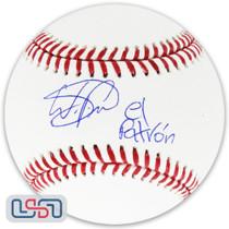 "Wander Franco Rays Signed Autographed ""El Patron"" Major League Baseball JSA Auth"